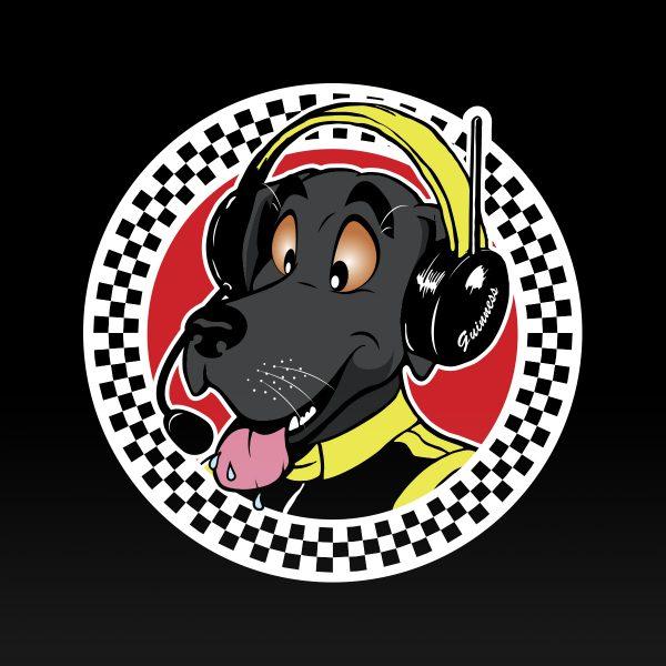 Motorsport mascot
