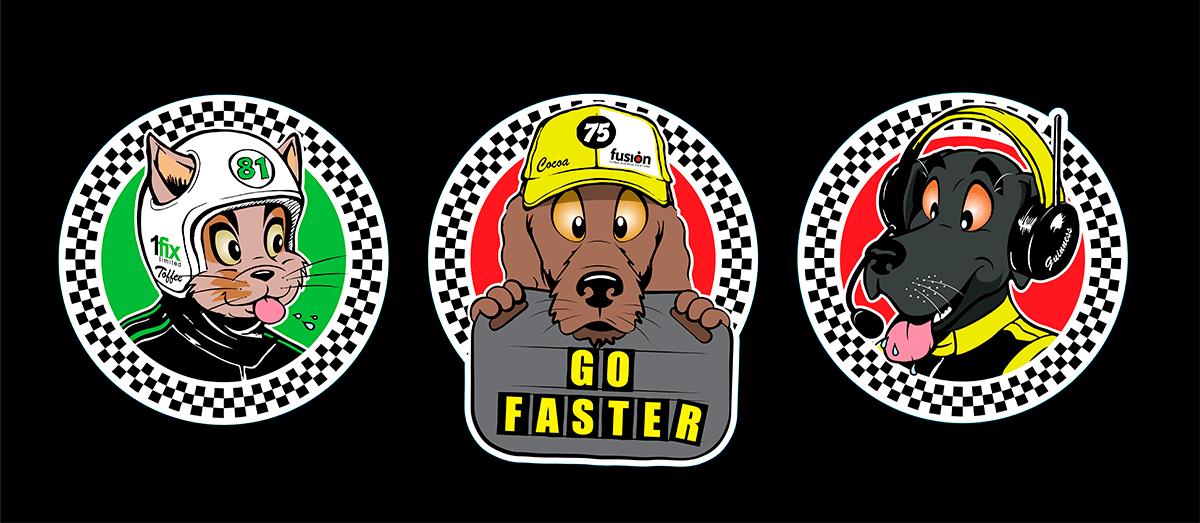 Mascot illustrations
